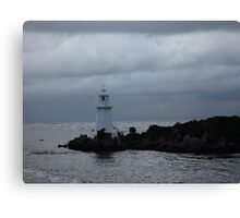 Lighthouse on Sarah Island - 2 - tasmania  Canvas Print