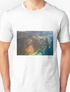 Diamond Head in Waikiki Beach - Honolulu, OAHU HAWAII Unisex T-Shirt