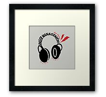 Anger Management: The Show Framed Print
