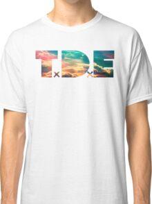 TDE TOP DAWG SKY BLUE CLOUDS HAZE FLARE Classic T-Shirt