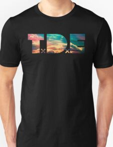 TDE TOP DAWG SKY BLUE CLOUDS HAZE FLARE Unisex T-Shirt