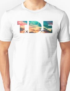 TDE TOP DAWG SKY BLUE CLOUDS HAZE FLARE T-Shirt