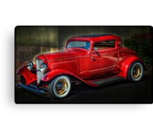 A Classic - 1932 Ford Coupe Canvas Print