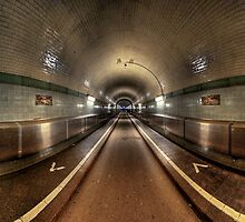 Elbe Tunnel - 360 HDR Panoramic by HKart