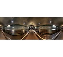 Elbe Tunnel - 360 HDR Panoramic Photographic Print