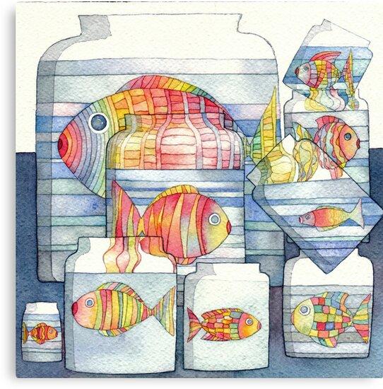 colorful fish by vimasi