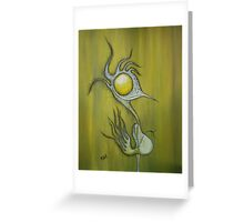 Scatter Brains Greeting Card