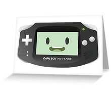 BMO - Black GBA Greeting Card