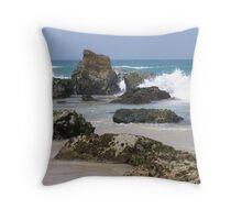 Port Macquarie Beach Throw Pillow