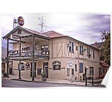 "Yackandandah Hotel - The ""Bottom Pub"" Poster"