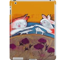 couple in love with their pets iPad Case/Skin