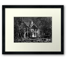The House of Evil Framed Print