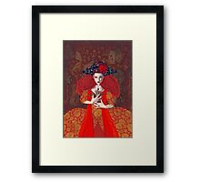 The Red Queen Framed Print