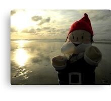 Shining Water Gnome Canvas Print