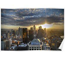 Melbourne Sunrise HDR Poster