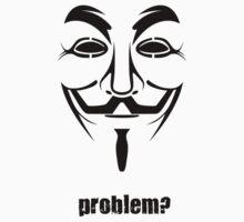Anonymous - Guy Fawkes Mask Symbol by phreshdesigns