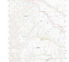 USGS Topo Map Nevada Odell Mountain 20111229 TM by wetdryvac