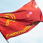keeping the red flag flying (Communist Party Flag, London, May Day 2011) by Umbra101