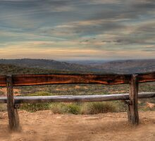 Resting Place - Merlins Lookout , Hill End NSW - The HDR Experience by Philip Johnson