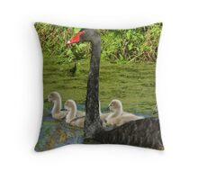 Out With Mum Throw Pillow