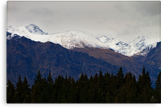 N.Z. Rugged Mountains 14 by Chris Cohen