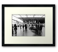Daily Grind, St Pancras International Station, London Framed Print