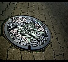 Manhole Art, Osaka by berndt2