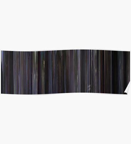 Moviebarcode: Donnie Darko (2001) Poster