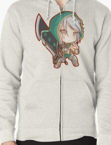 Cute Redeemed Riven - League of Legends Zipped Hoodie