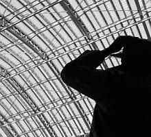 Betjeman, St Pancras International Station, London by Chris Hageman