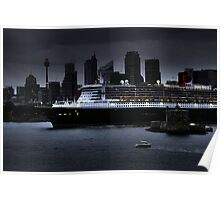 The Queen Mary in Sydney Poster