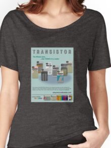 TRANSISTOR Magazine Ad Women's Relaxed Fit T-Shirt
