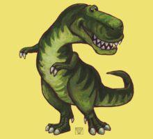 Animal Parade Tyrannosaurus Silhouette Kids Tee