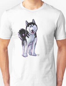 Animal Parade Husky Silhouette Unisex T-Shirt