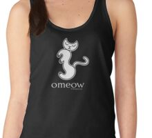 Om Cat Omeow Yoga T-shirt Women's Tank Top