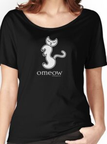Om Cat Omeow Yoga T-shirt Women's Relaxed Fit T-Shirt