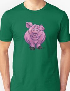 Animal Parade Pig Silhouette Unisex T-Shirt