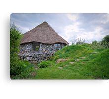 hobbit house.. Canvas Print