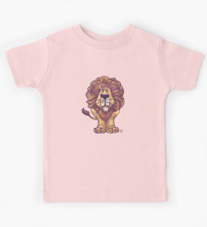 Animal Parade Lion Silhouette Kids Tee
