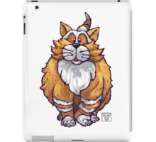 Animal Parade Ginger Cat Silhouette iPad Case/Skin