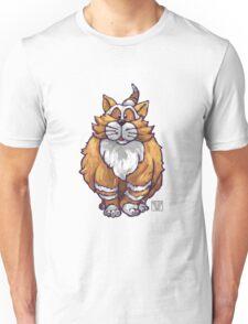 Animal Parade Ginger Cat Silhouette Unisex T-Shirt