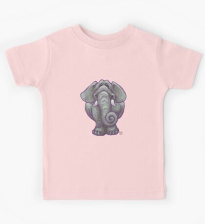 Animal Parade Elephant Silhouette Kids Tee