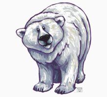 Animal Parade Polar Bear Silhouette Baby Tee