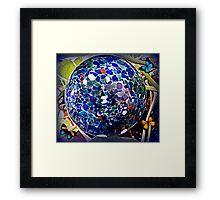 The Water Globe Framed Print