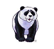 Animal Parade Panda Bear Silhouette Photographic Print
