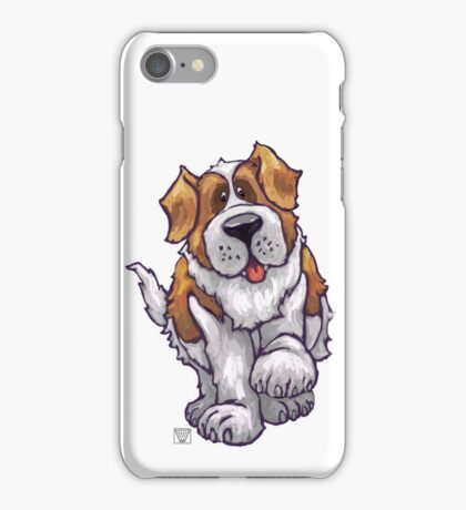 Animal Parade St. Bernard Silhouette iPhone Case/Skin