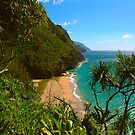 Nā Pali Coast - Kalalau trail, Kauaʻi HAWAII by Bruno Beach