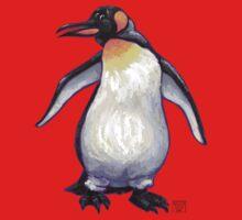 Animal Parade Penguin Silhouette Baby Tee