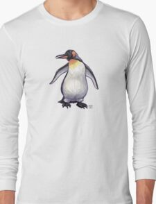 Animal Parade Penguin Silhouette Long Sleeve T-Shirt