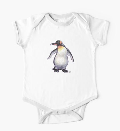 Animal Parade Penguin Silhouette One Piece - Short Sleeve